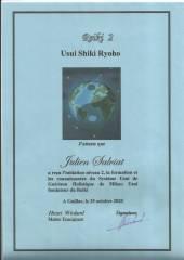 Certification Reiki niveau 2